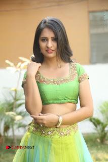 Actress Nikitha Bisht Stills in Lehenga Choli at Pochampally Ikat Art Mela Launch  0253.JPG
