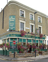 Priory Arms in Stockwell, SW8