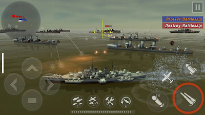 Warship Battle 3D World War II v1.3.0 Mod Apk (Unlimited Money)2