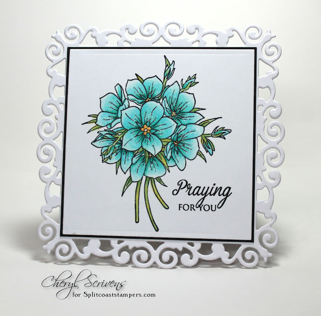 Cheryl Scrivens, CherylQuilts, Splitcoaststampers, Product Focus Team, September 2017, Chameleon ColorTops, JustRite Stamps, Stamp Simply Clear Stamps