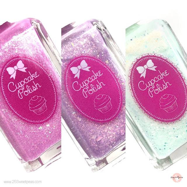 Cupcake Polish Bridal Trio