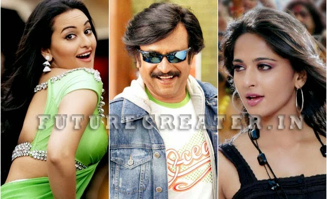 Anushka Shetty and Sonakshi Sinha in Rajinikanth's next movie 'Lingaa'
