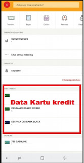 Mobile banking Digibank by DBS