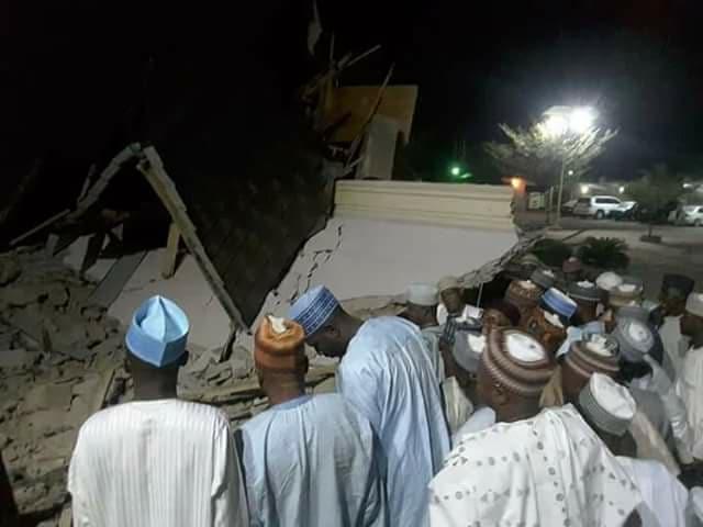 Gidan Aliyu Magatakarda Wamakko ya rushe a Sokoto (Hotuna