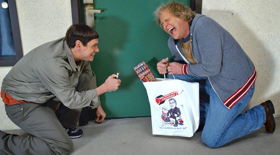 Jim Carrey şi Jeff Daniels după douăzeci de ani în Dumb And Dumber To