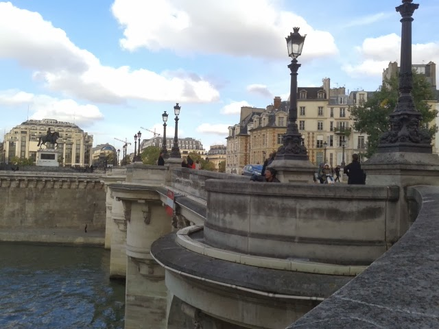 Paris Sena river bridge travel trip