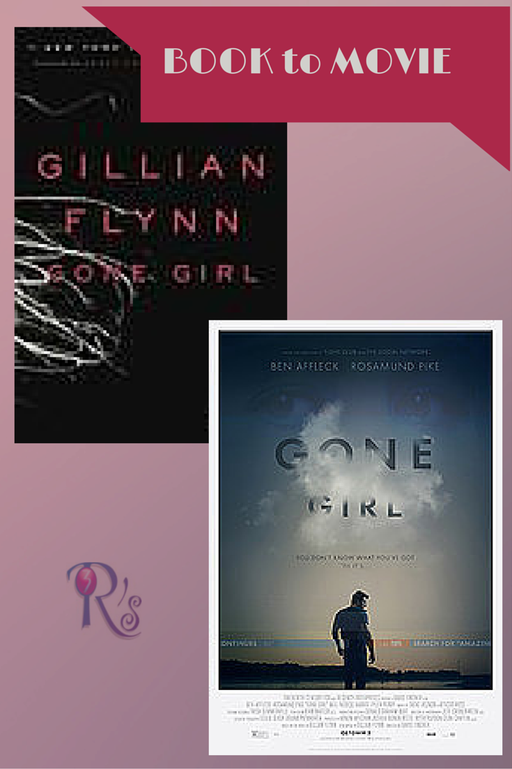 Book to Movie discussion GONE GIRL at The 3 Rs Blog