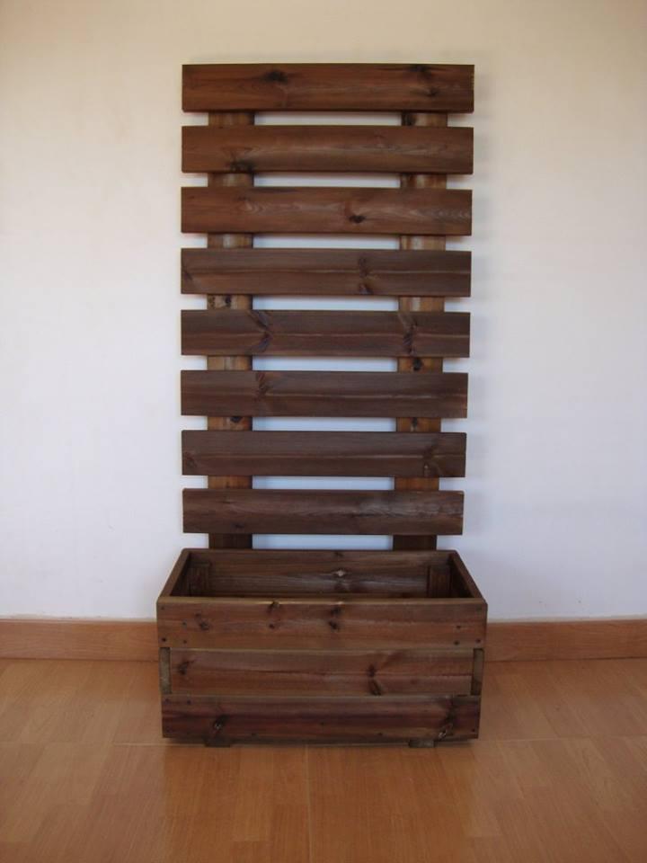 Jardinera celosia - Jardineras de madera caseras ...