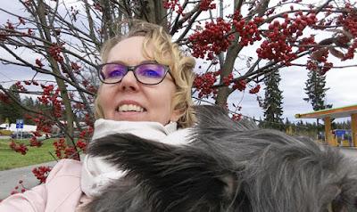 Tyttöjen reissu - koiran kanssa matkalla - koiraselfie