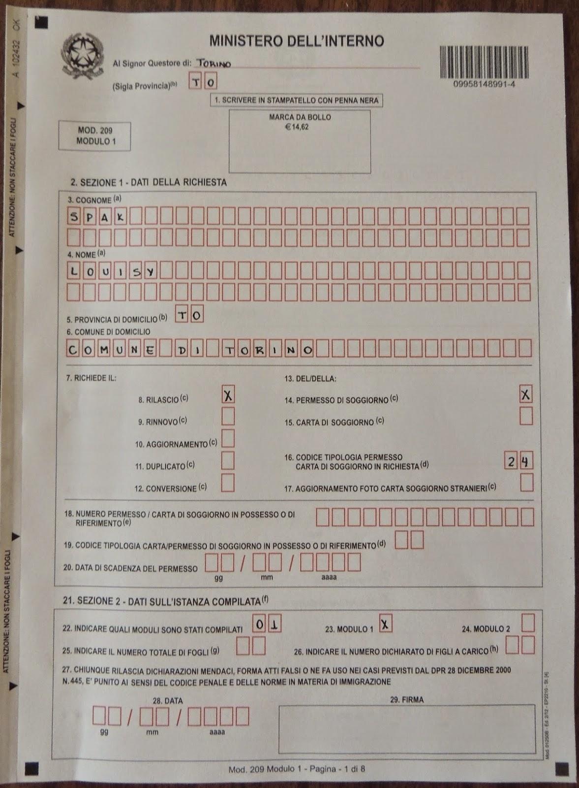 ISY NA ESTRADA | Louisy Spak: Documentação para estudar na Itália ...