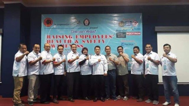 HR Angkringan Gelar Seminar Hebat Raising Employee's Health & Safety Awareness
