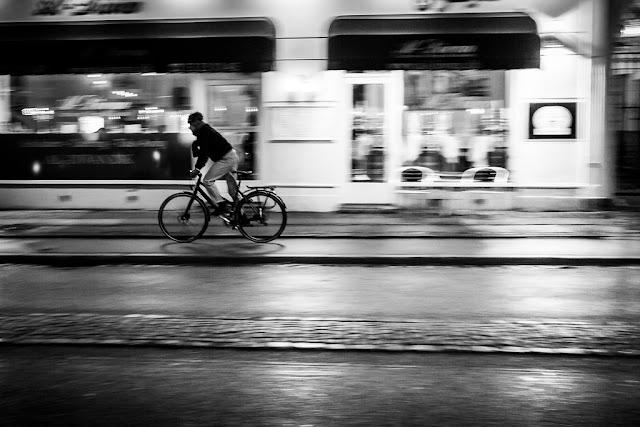 Fotografiando bajo la lluvia - Barrido