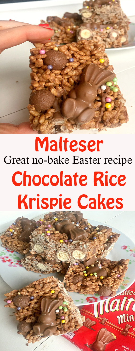 Malteser Chocolate Rice Krispie Cakes
