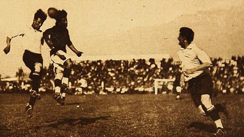 Chile y Uruguay en Campeonato Sudamericano de 1926