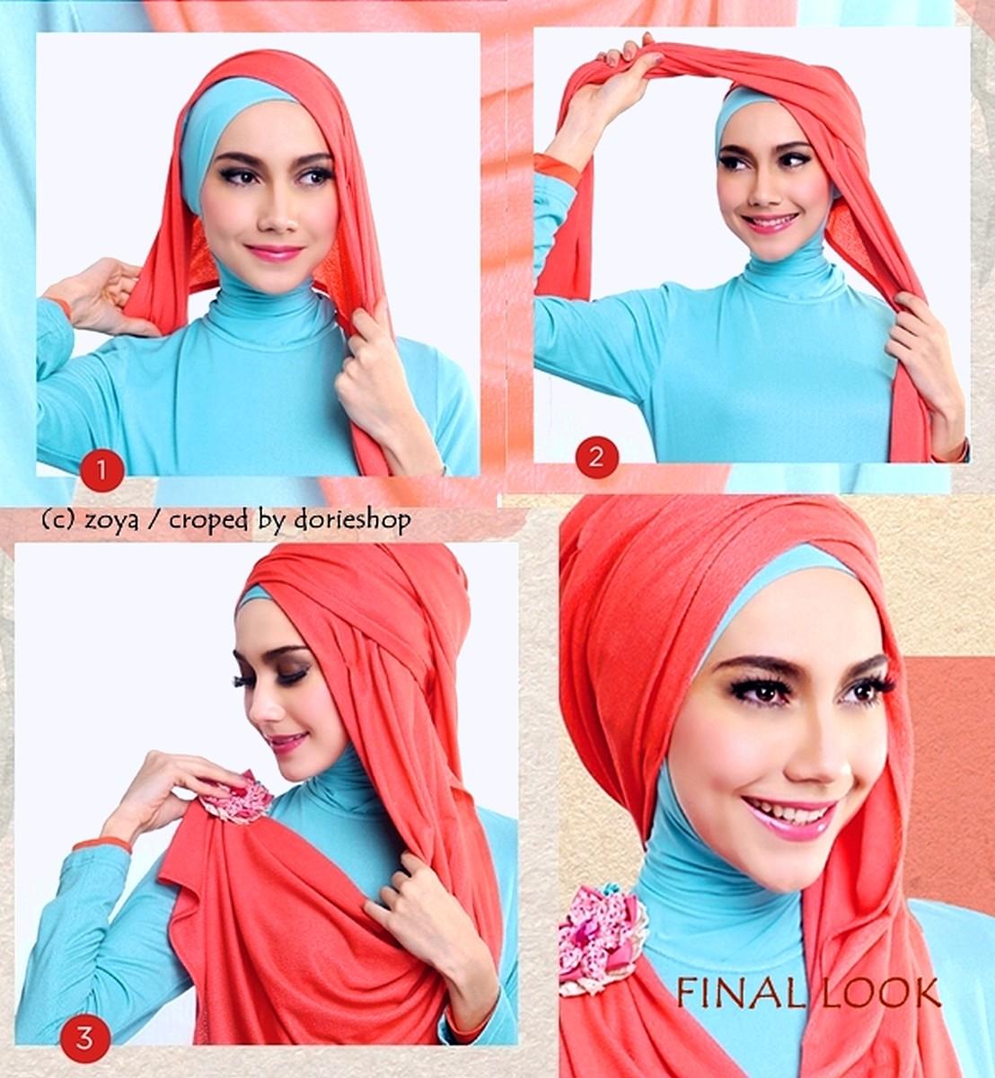 Foto Tutorial Hijab Pashmina Lamaran Modernhijab77