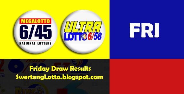 6 58 Lotto Draw Schedule