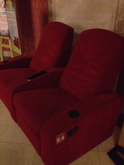 Ultra Cinema recliner seats