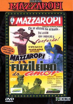 Mazzaropi: Fuzileiro do Amor - DVDRip Nacional