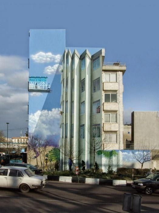 murales en edificios