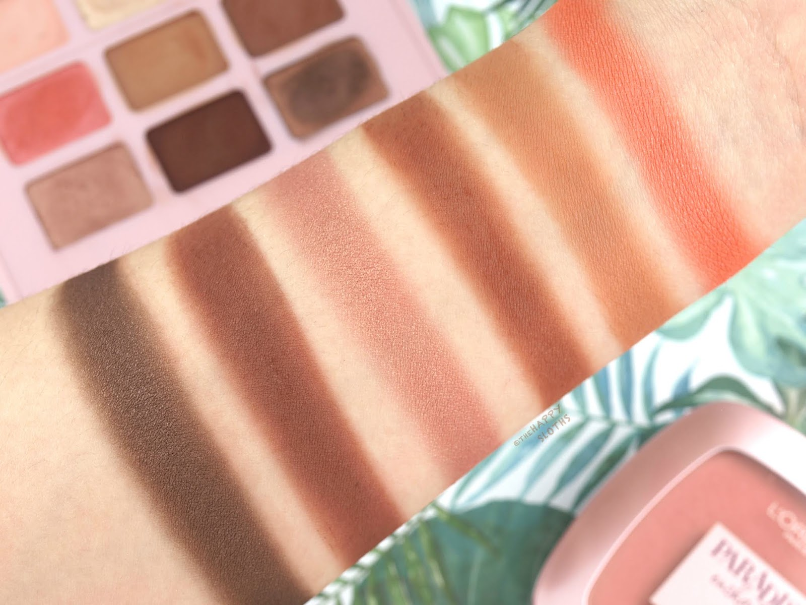 L'Oreal | Paradise Enchanted Scented Eyeshadow Palette: Review and Swatches