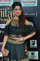 Ritika Singh in a Ethnic Deep Neck Dark Green Choli Ghagra at IIFA Utsavam Awards March 2017 ~ 013.JPG