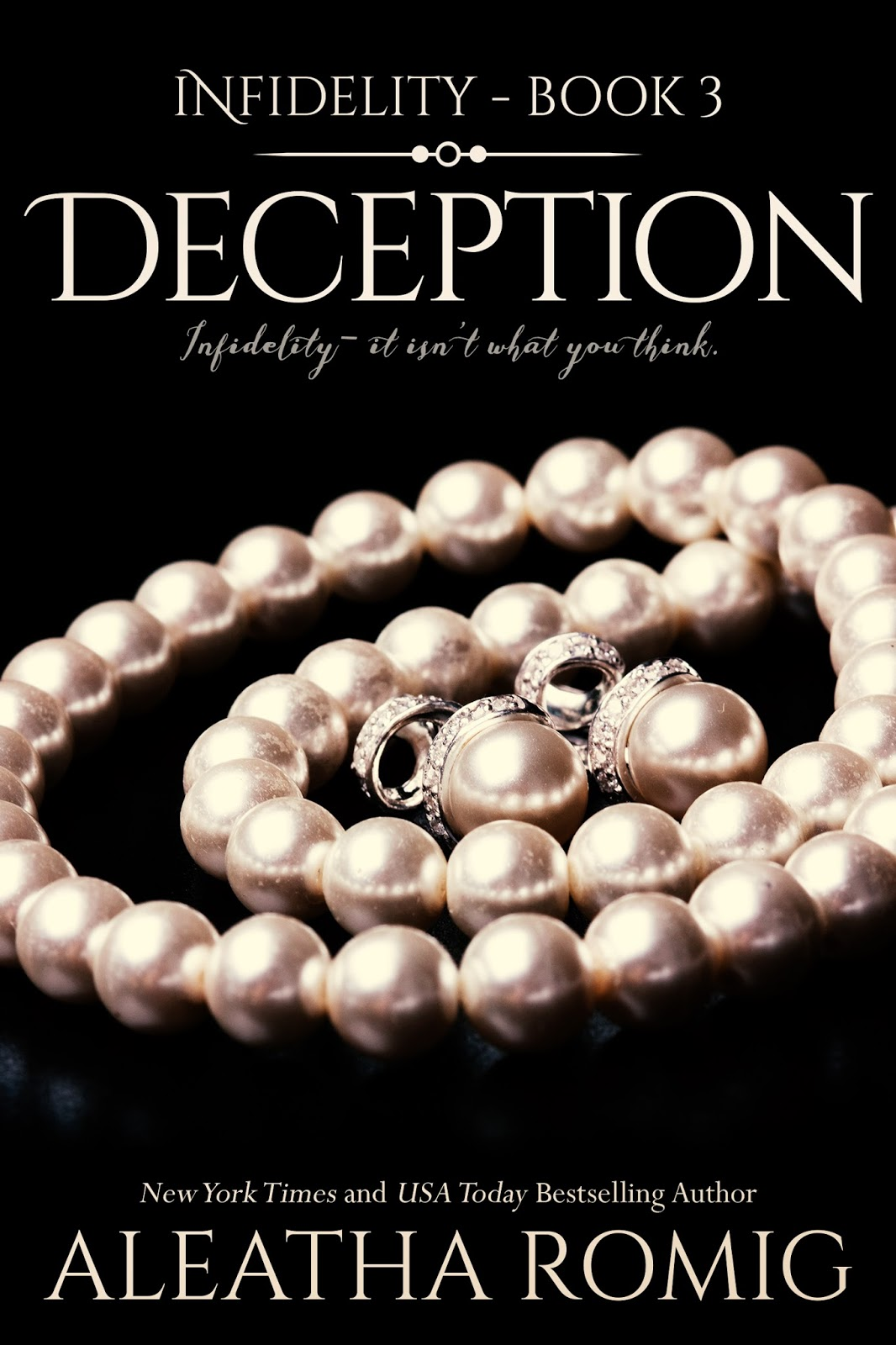Aleatha Romig: DECEPTION, book 3 of Infidelity...coming in
