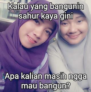 Foto lucu dan Gambar lucu DP BBM dan Meme Terbaru Jomblo Buka puasa tentang ramadhan