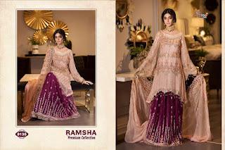 Shree Fab Ramsha Premium collection Pakistani Suits wholesale price Online india