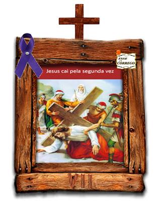 Caminho da Cruz - Jesus cai pela segunda vez