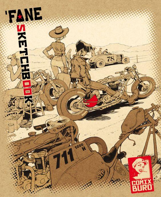 Fane Sketchbook - Comix Buro