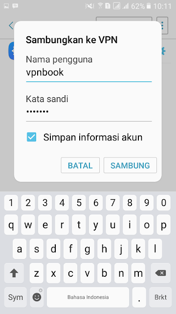 Cara Mudah Menggunakan VPN Di Android Tanpa Root
