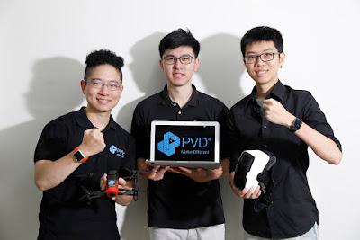 [Meet創業之星] 讓穿戴裝置更上層樓!PVD+讓你用Apple Watch遙控無人機
