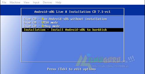 ialah lingkungan yg berdiri sendiri utk Windows yg membiarkan menjalankan sistem o Cara Praktis Instal Android di PC Menggunakan Virtualbox