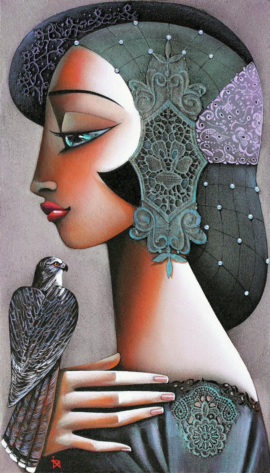 Ira Tsantekidou Princess with Falco