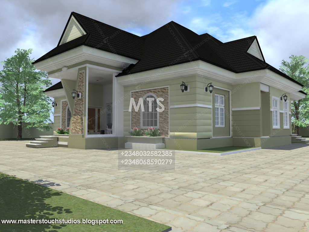 4 bedroom bungalow with office