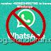 Nomor telepon Anda diblokir dari menggunakan WhatsApp. Hubungi dukungan untuk bantuan