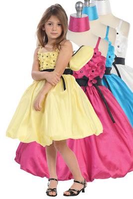 Model Desain Baju Pesta Anak Perempuan Cute