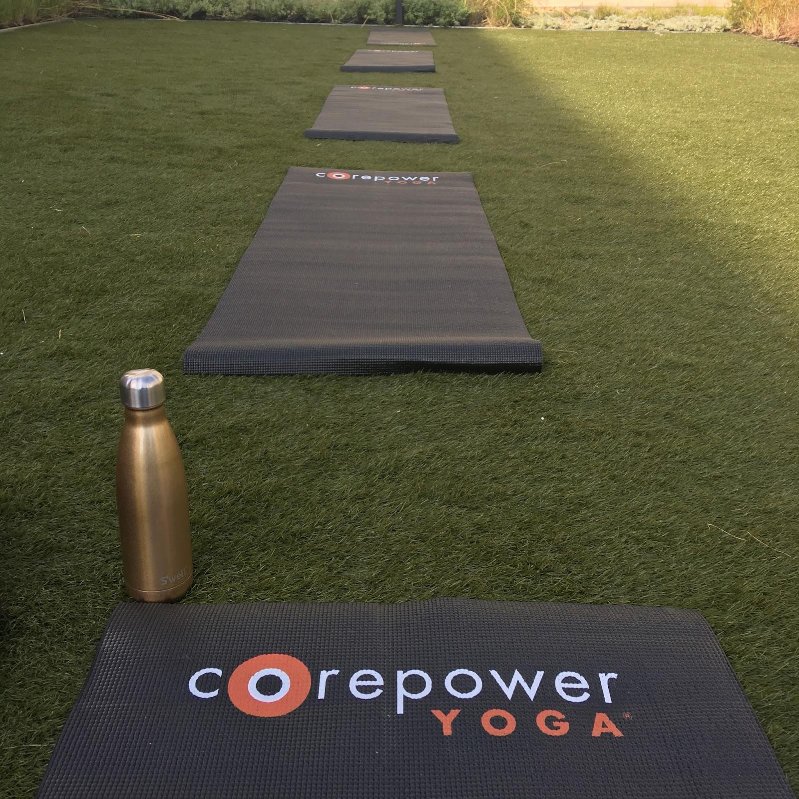 Core Power Yoga Ink Block