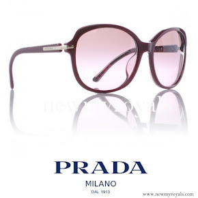 Crown princess Mary style PRADA Sunglasses