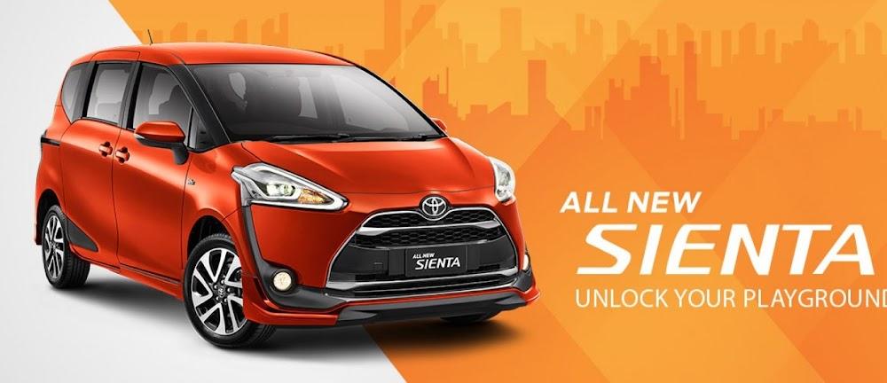 Cari Mobil Keluarga? Toyota All-New Sienta Aja!