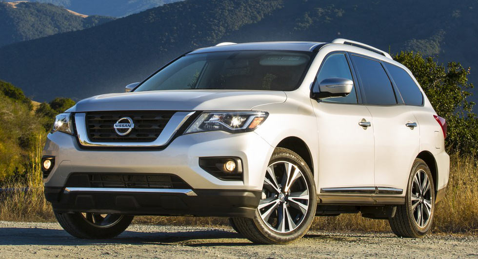 2018 nissan pathfinder receives minor updates priced from. Black Bedroom Furniture Sets. Home Design Ideas