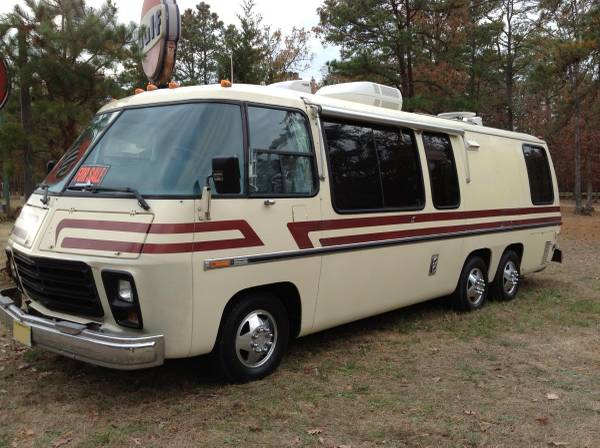 used rvs 1973 gmc custom motorhome for sale by owner. Black Bedroom Furniture Sets. Home Design Ideas