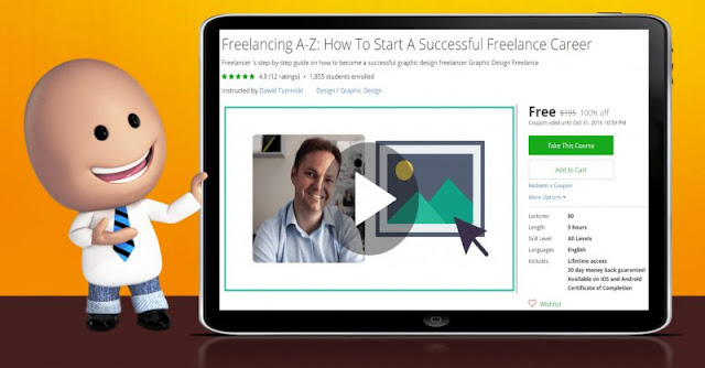 [100% Off] Freelancing A-Z: How To Start A Successful Freelance Career| Worth 195$
