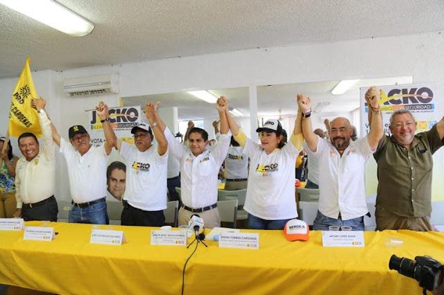 Se suman líderes Priistas a la campaña de Jacko Badillo*