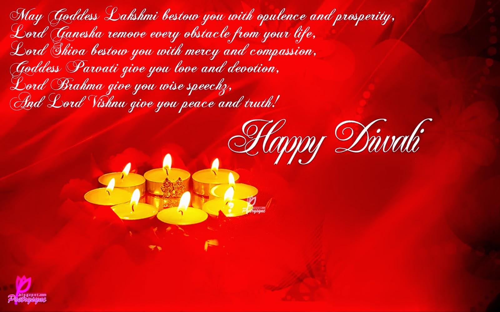 happy diwali messages 2014