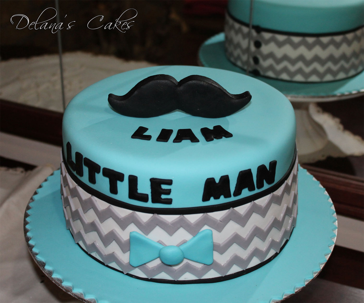 Delanas Cakes Little Man Mustache Cakes