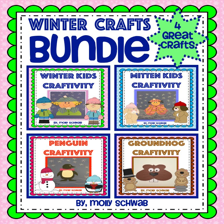 Winter Crafts Bundle