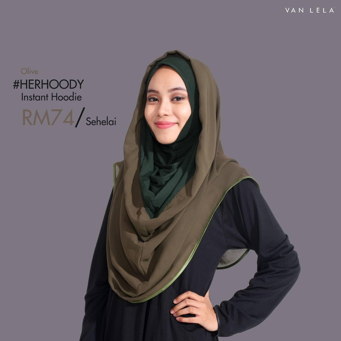 Van Lela Instant Hoodie: Herhoody Yang Sweet Atau Hiphoody Yang Gorgeous