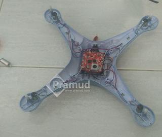 cara pasang lepas dan ganti motor dinamo drone syma x5hw indonesia - pramud blog