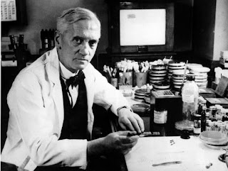 Photograph of Alexander Fleming (Black and White)